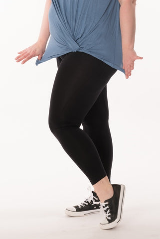 Black Leggings - Plus