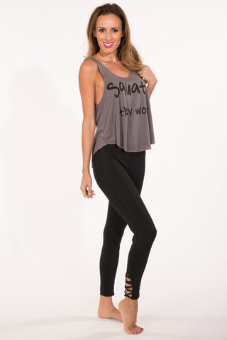 Strappy Criss Cross Legging