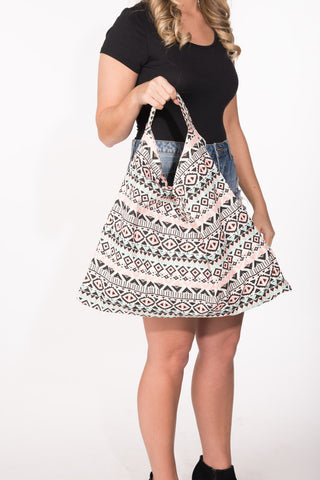 Flashy Tribal Print Bag