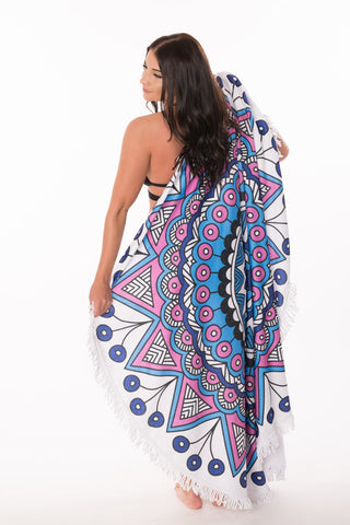 Mandala Beach Blanket