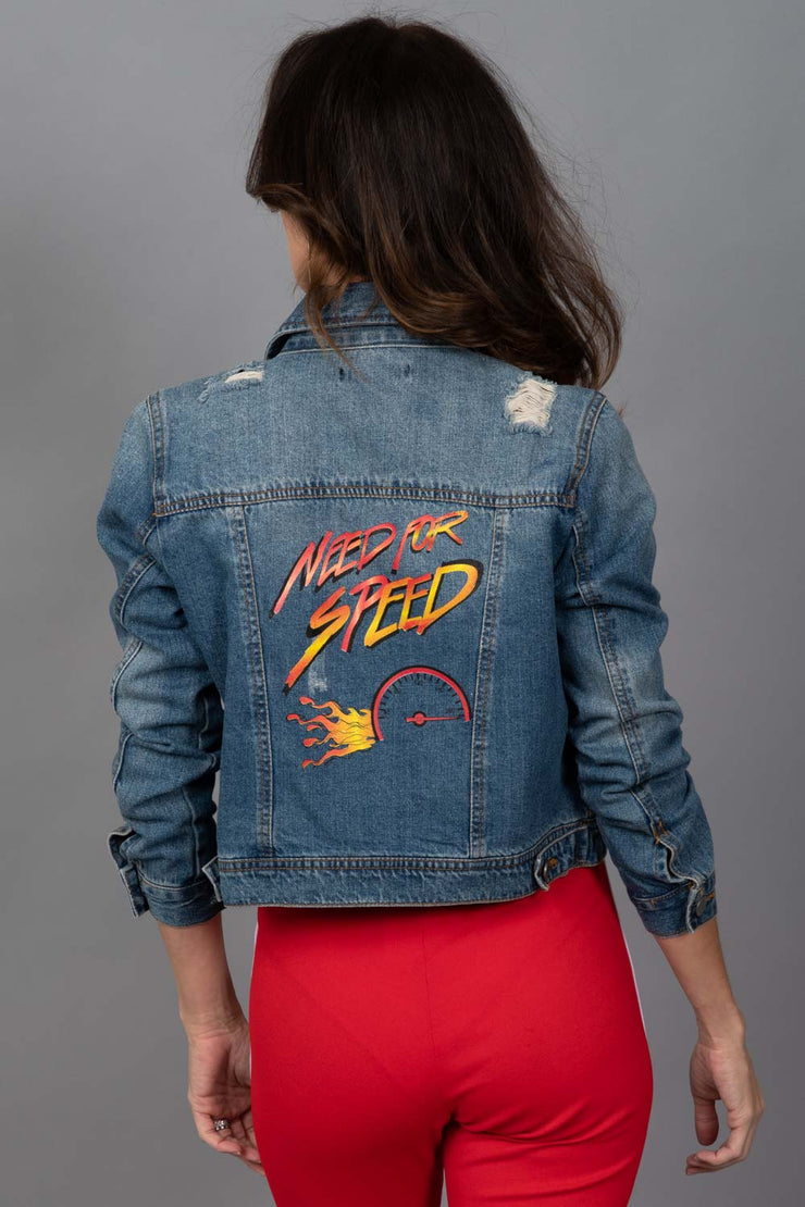 Need For Speed Denim Jacket