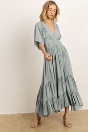 Ocean Breeze Midi Dress