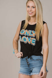 Only Love Graphic Tank