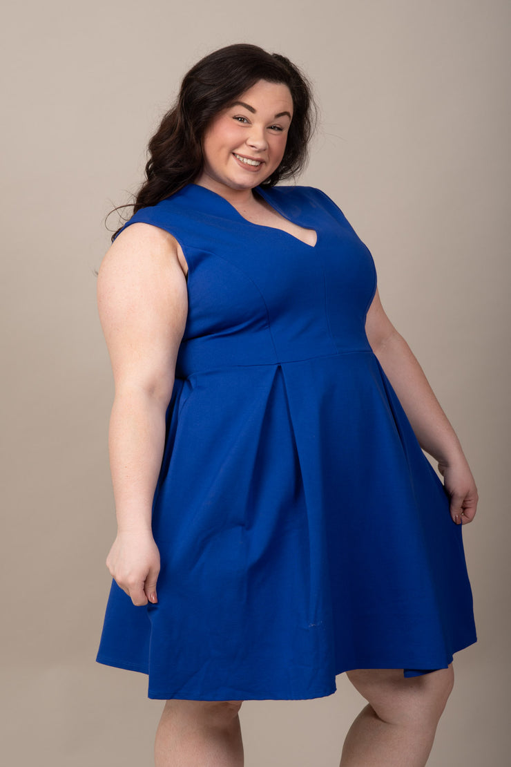 Picture Perfect Dress - Curvy