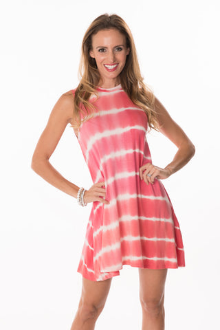 Tie-Dye Sleeveless Dress
