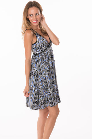 Aztec Strappy Dress