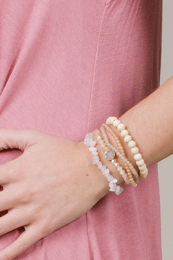 Seriously Stacked Bracelet