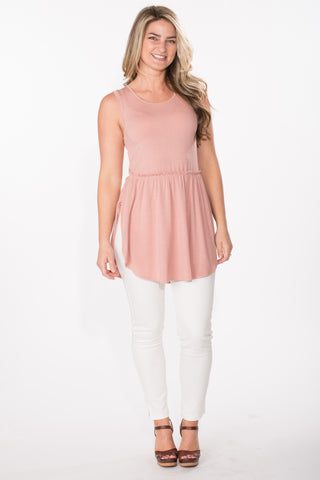Sleeveless Babydoll Tunic