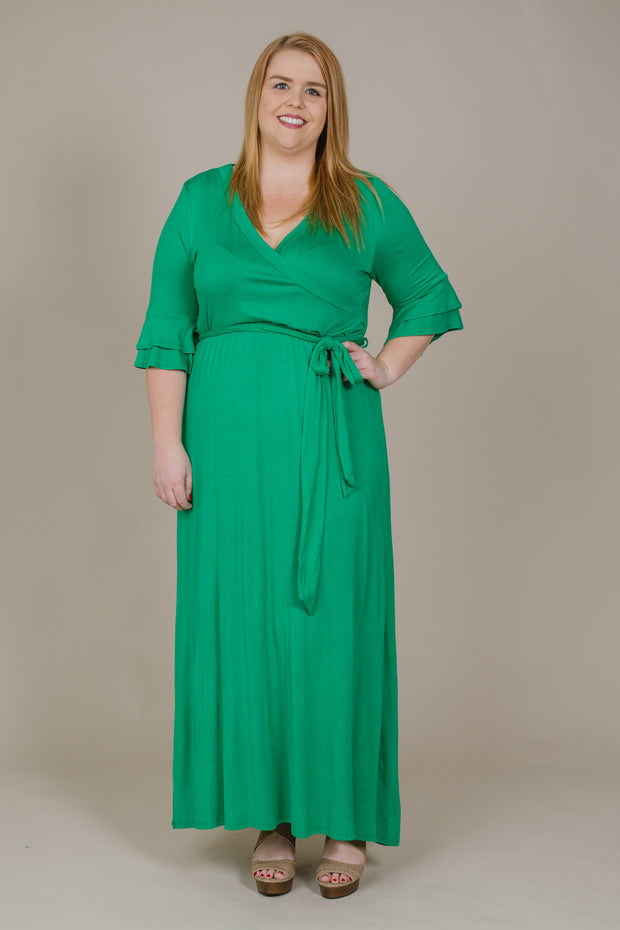 Someone To Love Maxi Dress - Plus