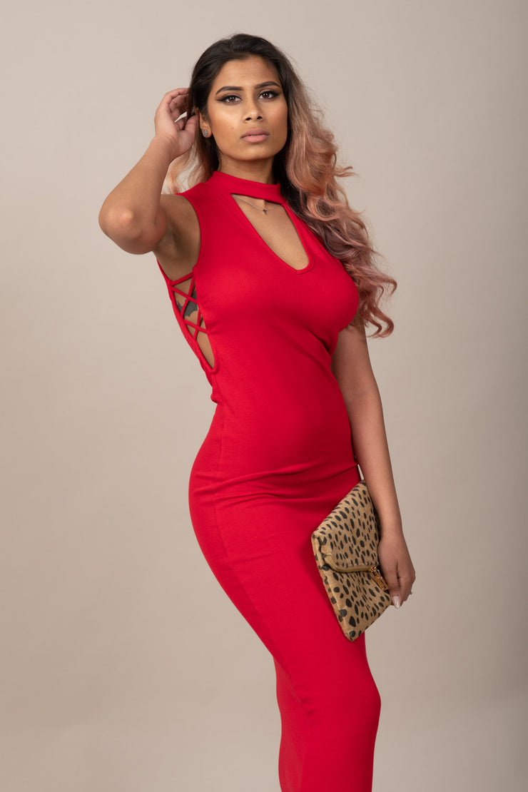 Stylish to the Maxi Bodycon Dress