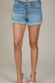 Sunday Drive Denim Shorts