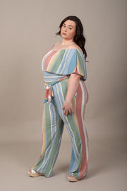 Weekend Getaway Jumpsuit - Curvy