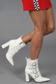 White Noise Booties
