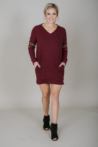 Wild Side Tunic Sweater