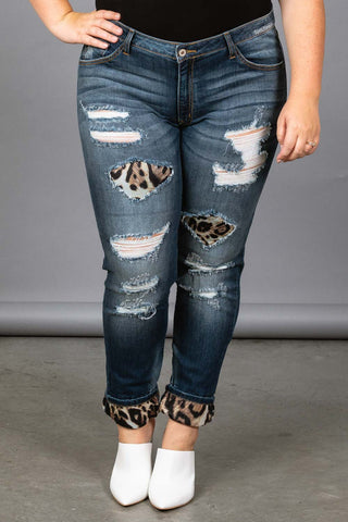 Wild Thoughts Jeans - Plus