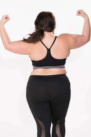 H-Back Sports Bra - Plus