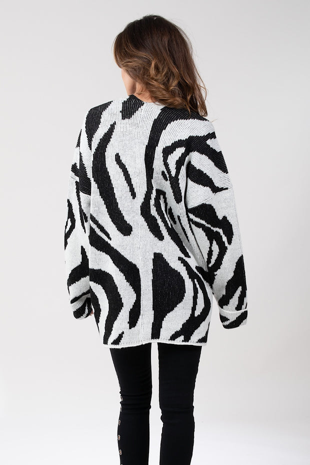 Count My Stripes Cardigan
