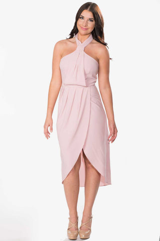 Halter Tulip Dress