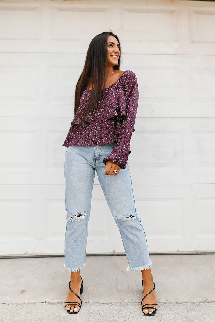 Cabernet Tiered Top