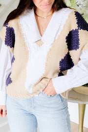 Chunky Sweater Vest
