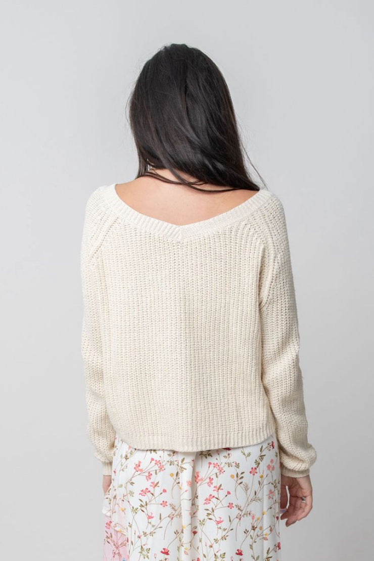 Rome Ruched Sweater