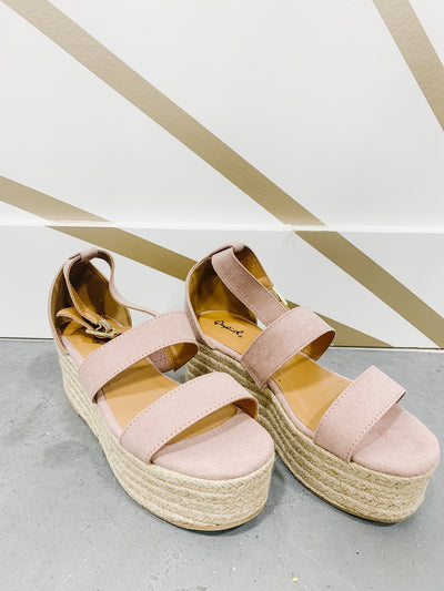 Pretty in Pink Espadrilles
