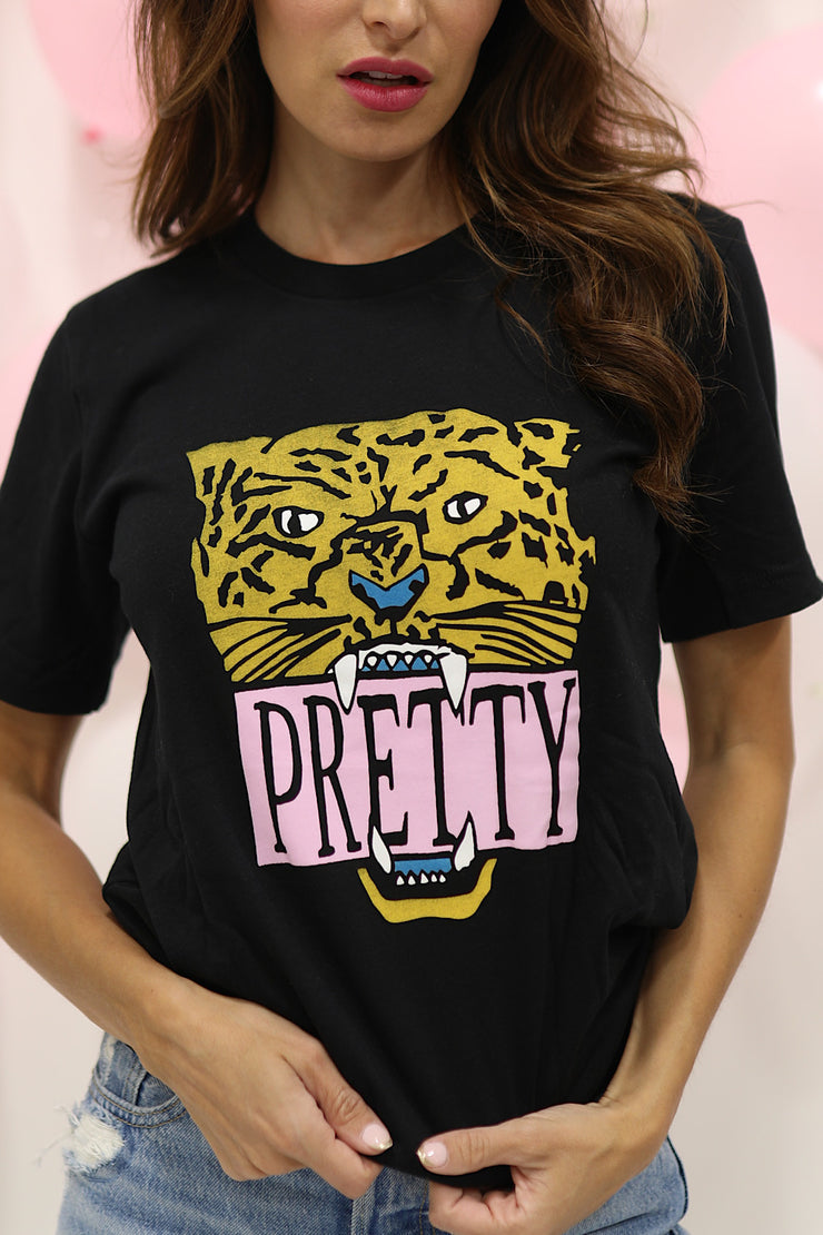 Pretty n' Black Graphic Tee