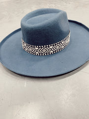 Ocean Breeze Wool Fedora