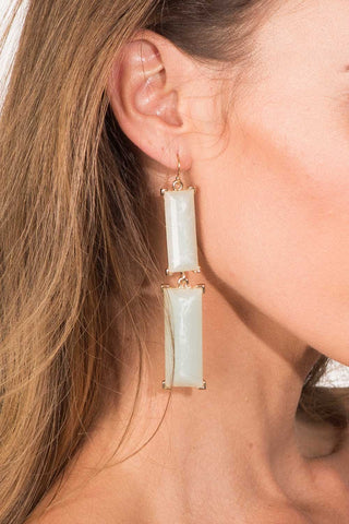 Mint Statement Earring