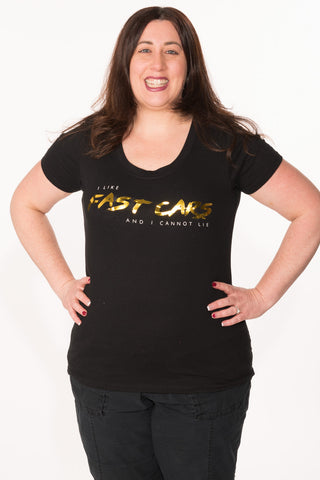 Fast Cars Tee - Plus - Black