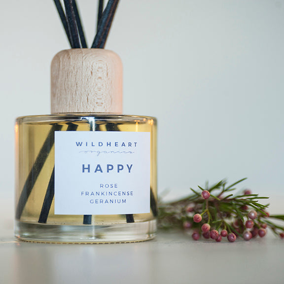 Wild Heart ''Happy' Organic Diffuser