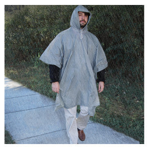 Green Supply All-Weather Poncho - Adult