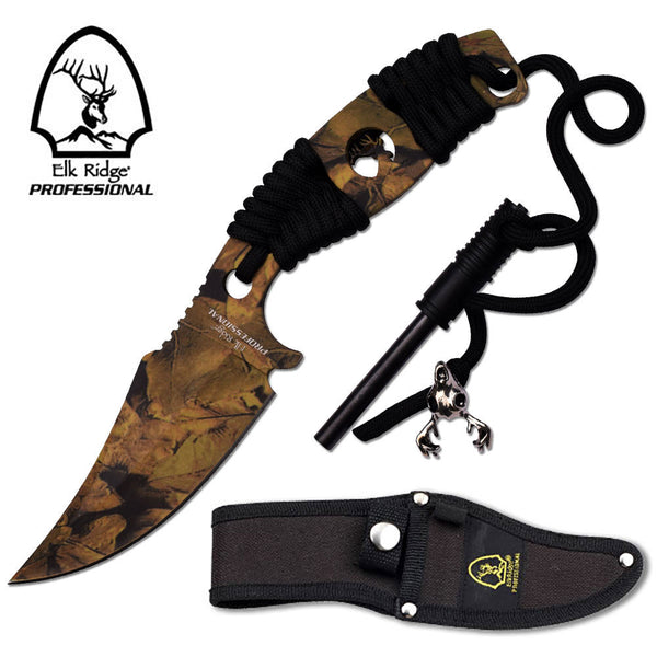Master Cutlery Elk Ridge PROFESSIONAL FIXED BLADE KNIFE