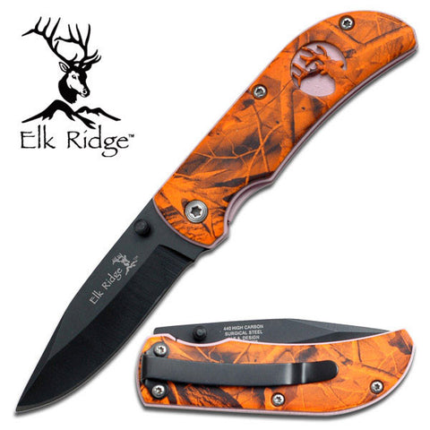 Master Cutlery Elk Ridge FOLDING KNIFE