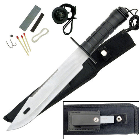 "Master Cutlery SURVIVAL KNIFE 15"" OVERALL"