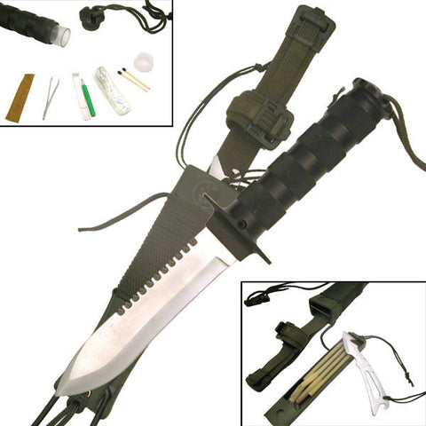 "Master Cutlery SURVIVAL KNIFE 10.5"" OVERALL"