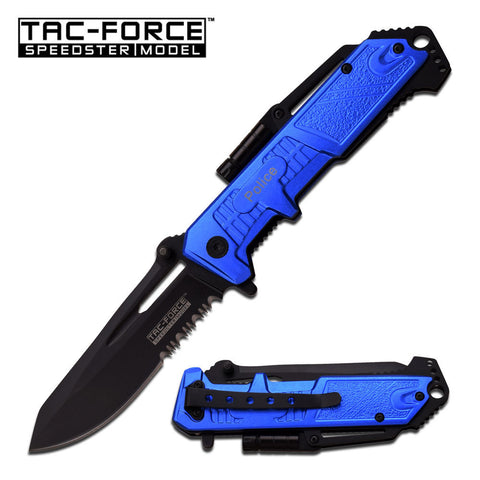 Master Cutlery TAC-FORCE LED SPRING ASSISTED KNIFE