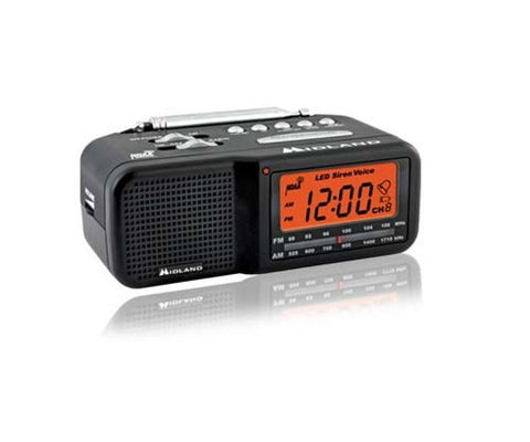 Productive Electronics LLC AM-FM Clock Weather Radio Hidden Camera