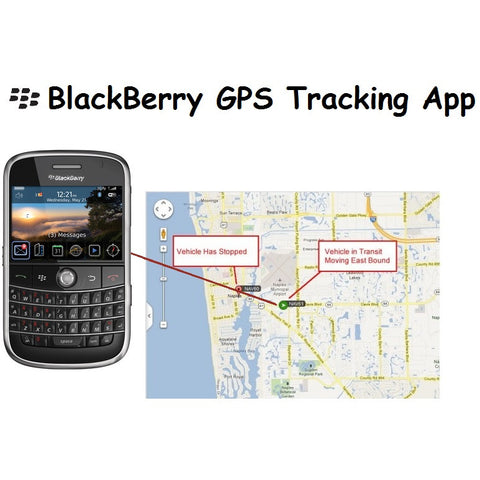 Newgate Security Blackberry GPS Tracking App