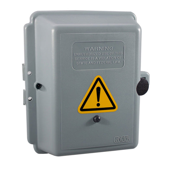 KJB Security Products, Inc. Outdoor Electrical Box Hidden Camera (Rechargeable Battery)