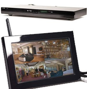 KJB Security Products, Inc. DVD Player Wireless Hidden Camera System - Zone Shield Series