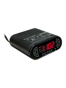 SCS Enterprises, Inc. Clock Radio Hidden Camera