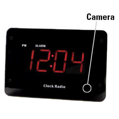 KJB Security Products, Inc. Zone Shield Wi-Fi Clock Radio Hidden Camera