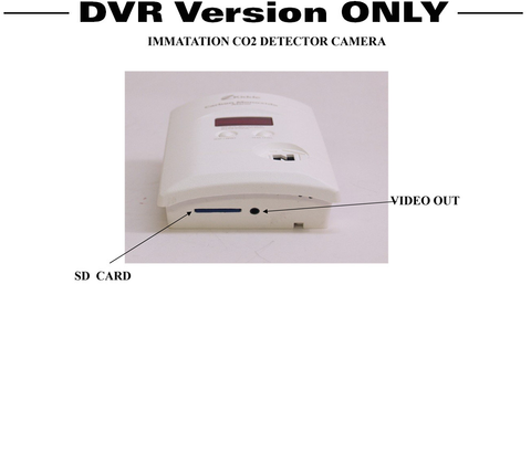 Productive Electronics LLC CO2 Detector Hidden Camera/DVR