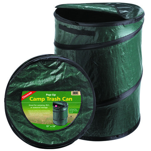 Green Supply Pop-Up Camp Trash Can