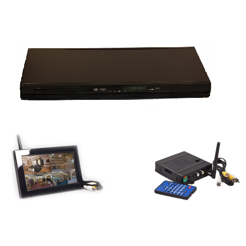 KJB Security Products, Inc. DVD Player Wireless Camera - Add On