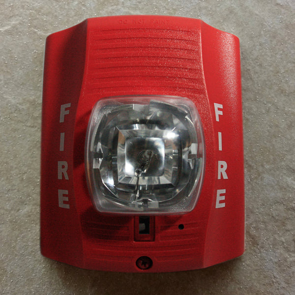 Atlantic Electronic Fire Alarm Strobe Light Spy Camera