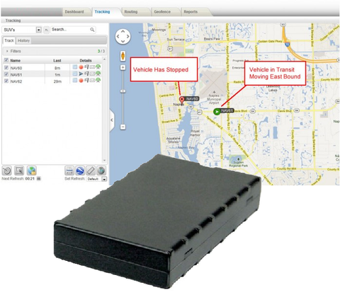 Newgate Security Fleet GPS Tracking Device