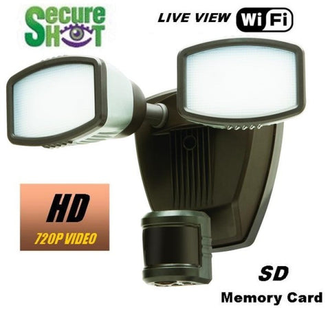 Productive Electronics LLC Flood Light Hidden Camera - Live View Series
