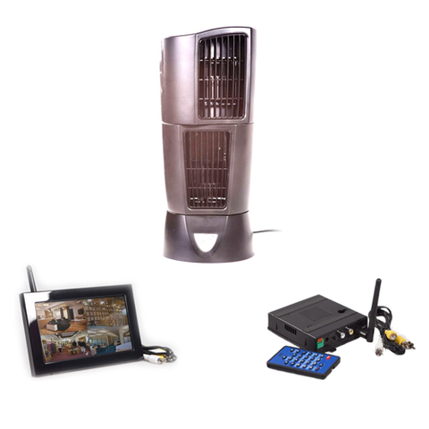 KJB Security Products, Inc. Oscillating Fan Wireless Hidden Camera System - Zone Shield Series